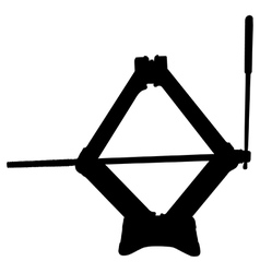 Scissor jack vector