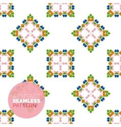 Colorful seamless geometric pattern modern vector
