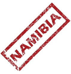 New namibia rubber stamp vector