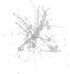 Gray ink splash vector