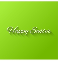 Happy easter typographical vector
