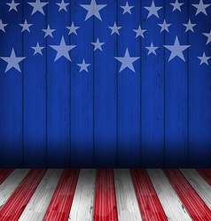 Usa style background empty wooden table vector