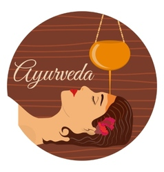 Ayurveda ayurvedic treatment vector