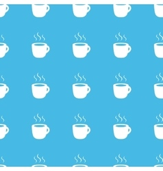 Hot drink straight pattern vector
