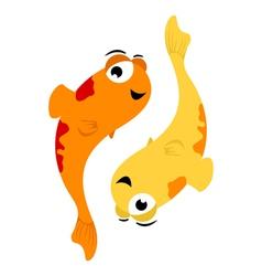 Pisces zodiac vector
