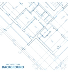 New architecture plan vector