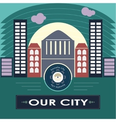 Our city vector