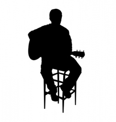 Acoustic guy vector