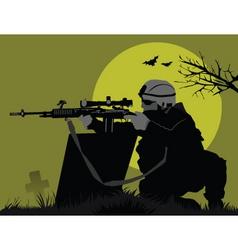 Moon soldiers vector