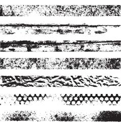 Grunge stripes vector