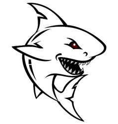 Shark tattoo for you design vector