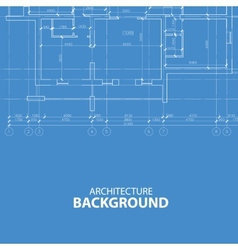 Blueprint architecture background vector