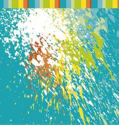 Paint spot vector