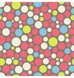 Seamless festive background from circles vector