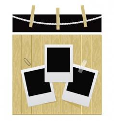 Photo set illustration vector