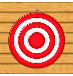 Red target vector
