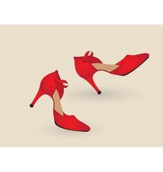 Tango shoes vector