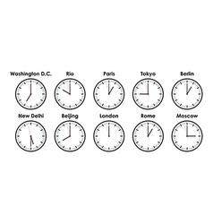 Timezones vector