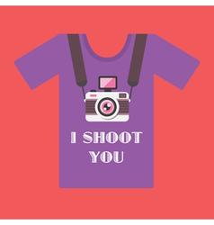 I shoot you vector