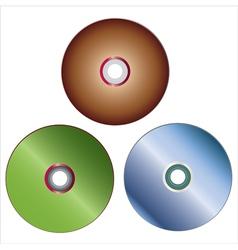 Dvd discs vector
