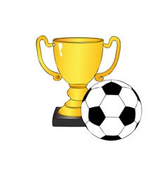 Football tournament vector