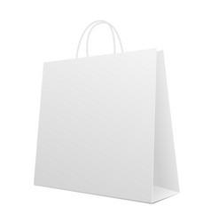Empty shopping bag vector