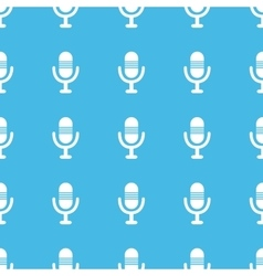 Microphone straight pattern vector