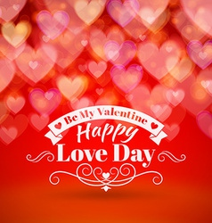 St valentines day abstract background with vector