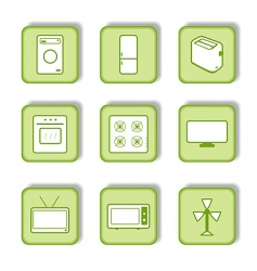 Homeware icon vector