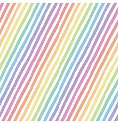 Retro seamless pattern with diagonal stripes vector