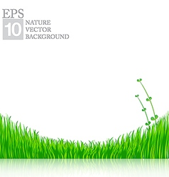 Nature background with green grass 01 380x400 vector