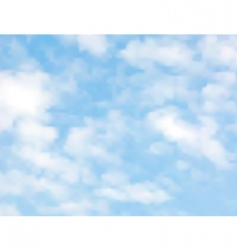 Light clouds vector