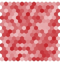Seamless abstract hexagon background vector