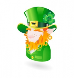 Leprechaun icon vector