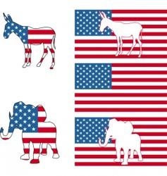 Usa political vector