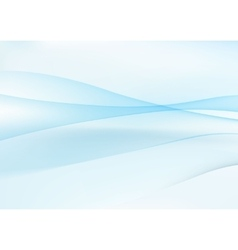 Abstract blue wavy background vector