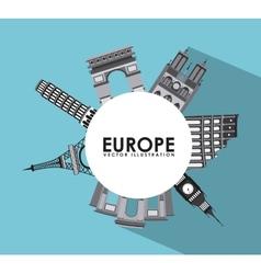 Europe design vector