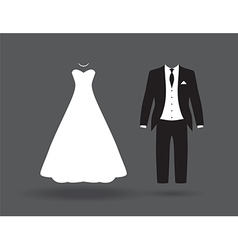Bride groom6bride and groom vector