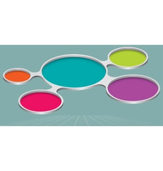 3d palette infographic element icon sign abstract vector