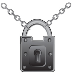 Lock on chain vector