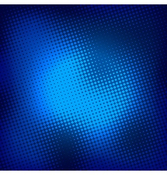Creative blue halftone background vector