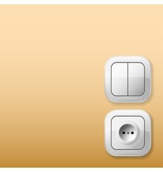Sockets and switches vector