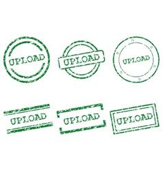 Upload stamps vector