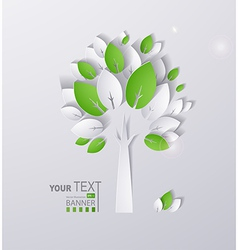 Paper tree vector