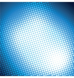 Shiny blue halftone background vector