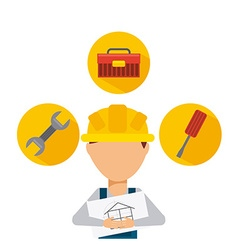 Manufacturing icon vector