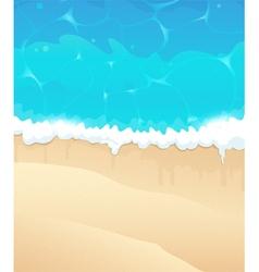Ocean beach vector