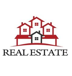 Logo residential vector