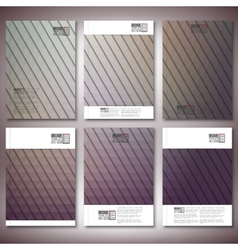 Abstract background triangle design  brochure vector