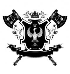 Heraldry coat of arms vector